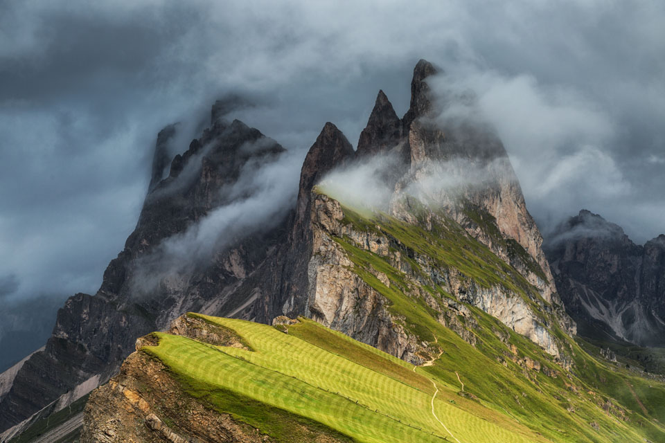 beautiful landscape photography seceda by mikolaj gospodarek