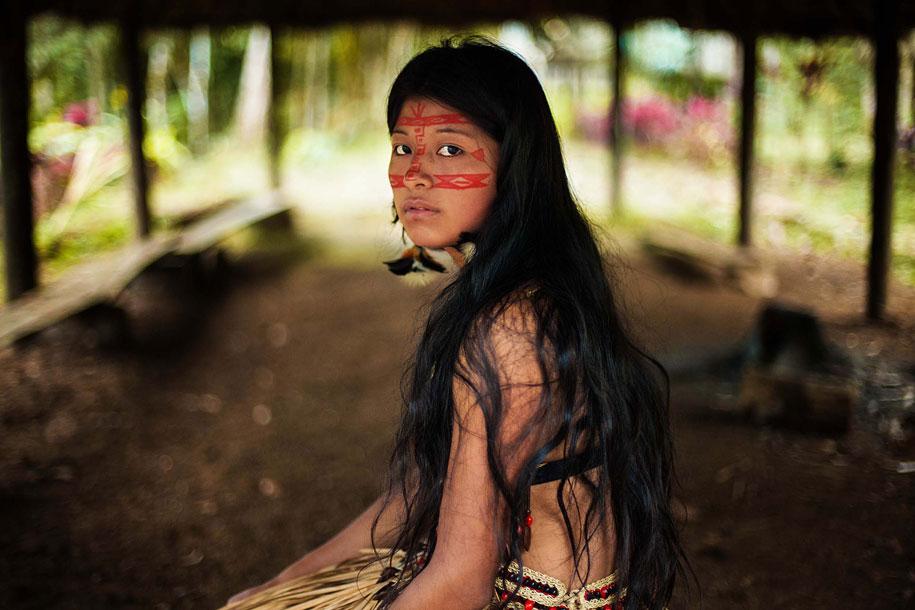 amazon rainforest woman by mihaela noroc