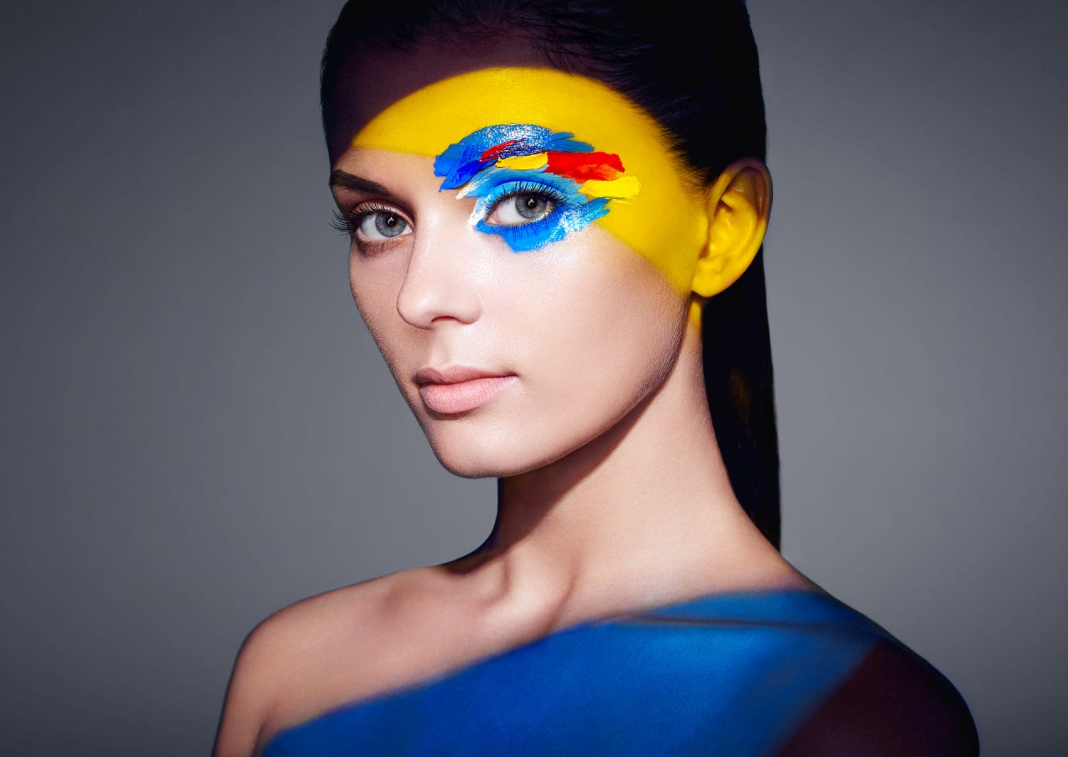 1 beauty photography colourful abstract makeup by oleg gekman