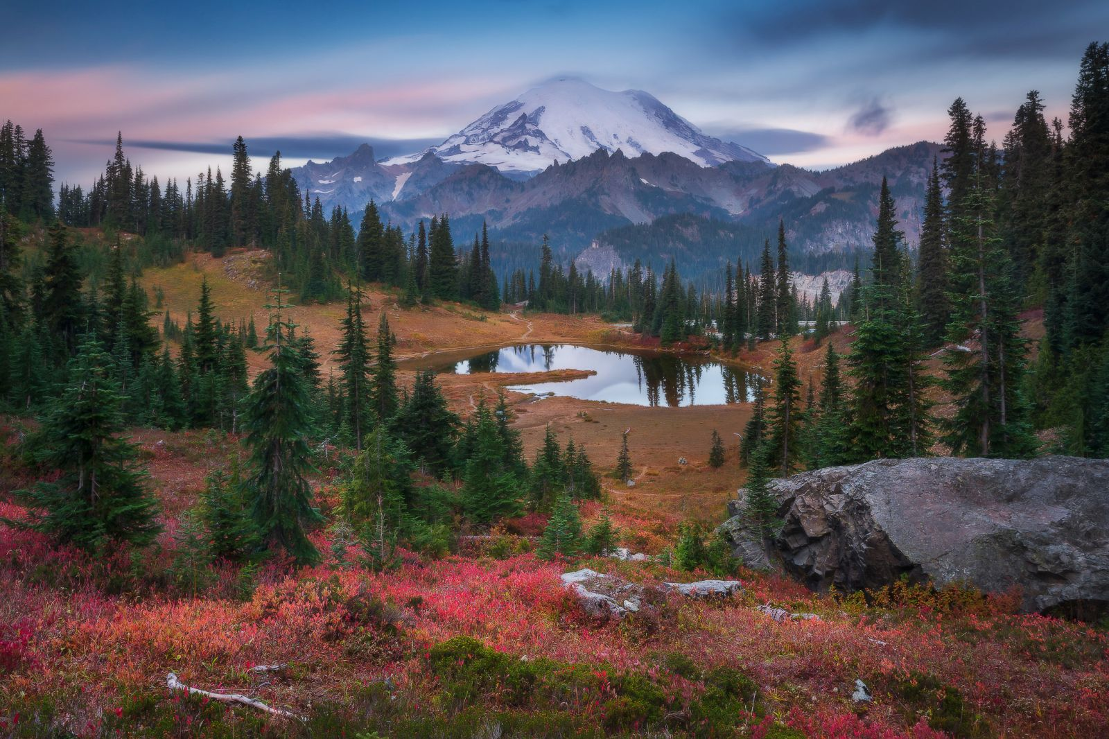 lanscape photography rainier fall by everlook photography