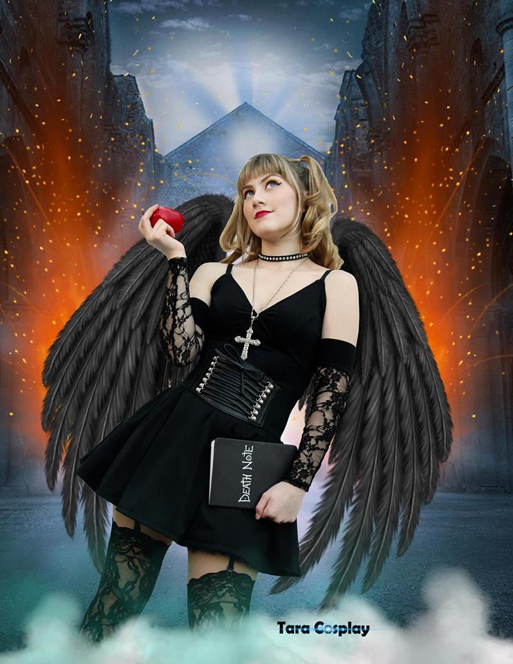 cosplay photography black angel by taracosplay