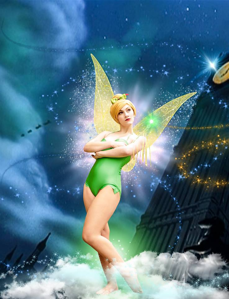 cosplay photography tinkerbell by taracosplay