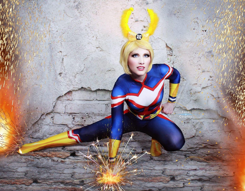 cosplay photography toshinori by taracosplay