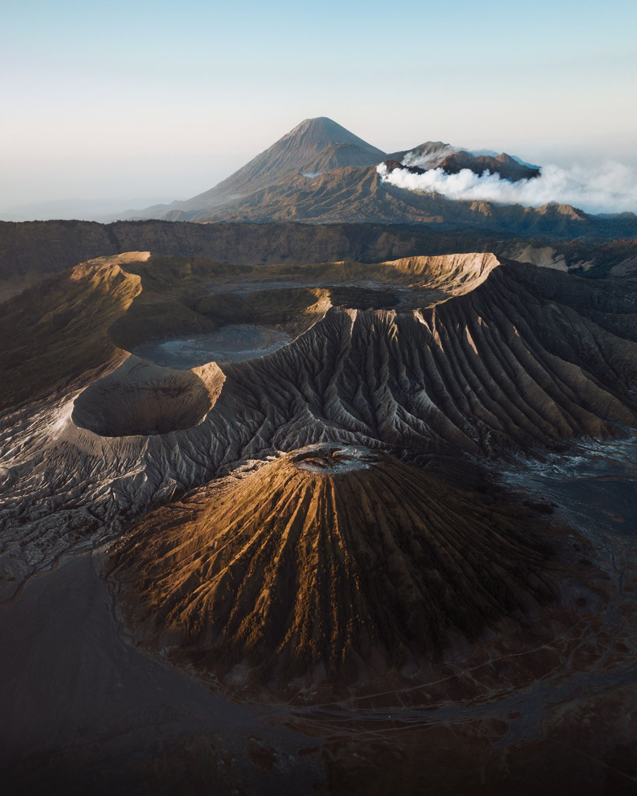 landscape photography volcano pimples indonesia by witold ziomek