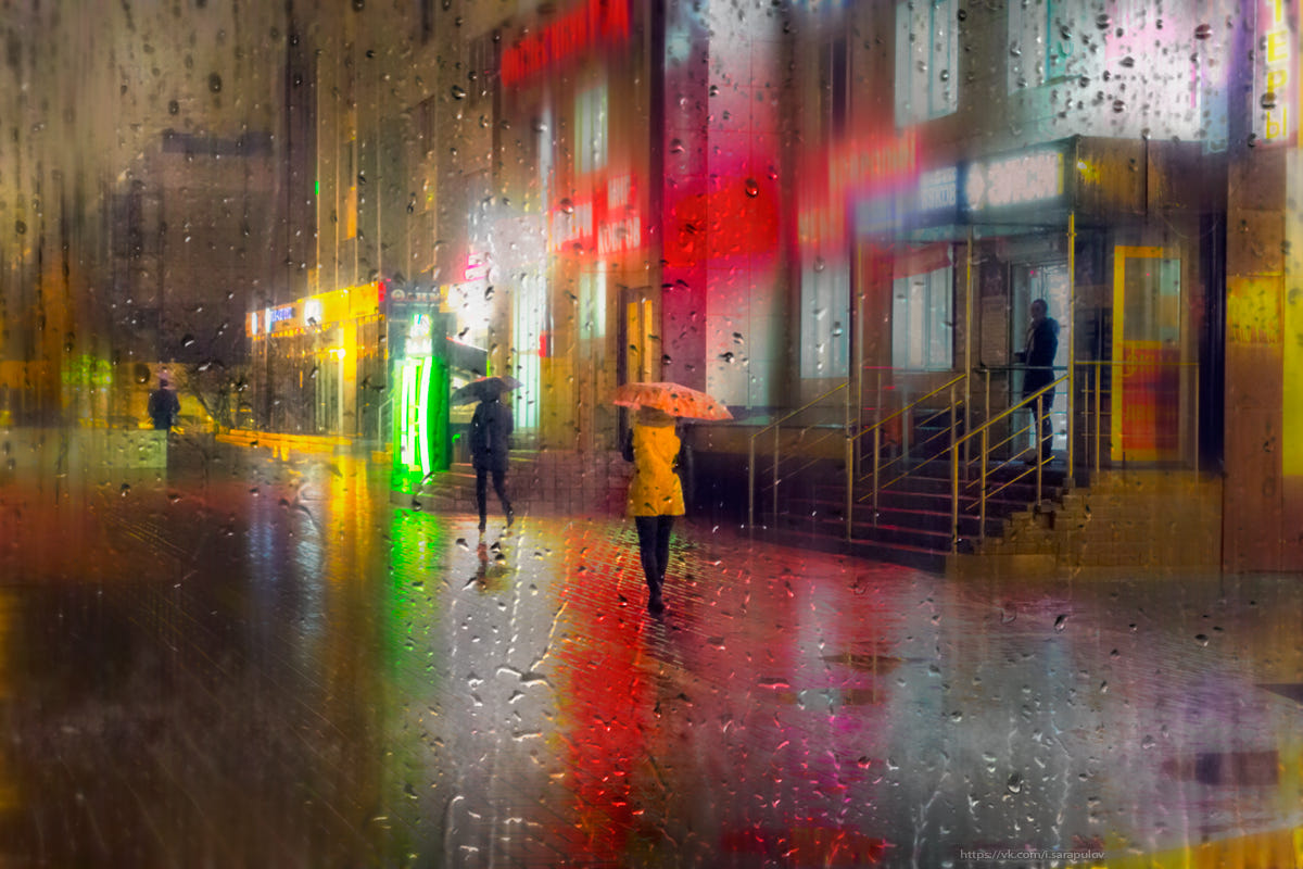 colorful rainy shot by igor sarapulov