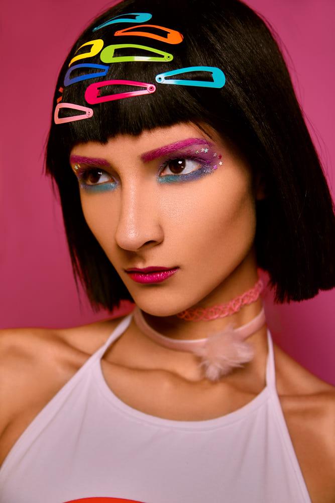 beauty photography harajuku fashion makeup by angela perez