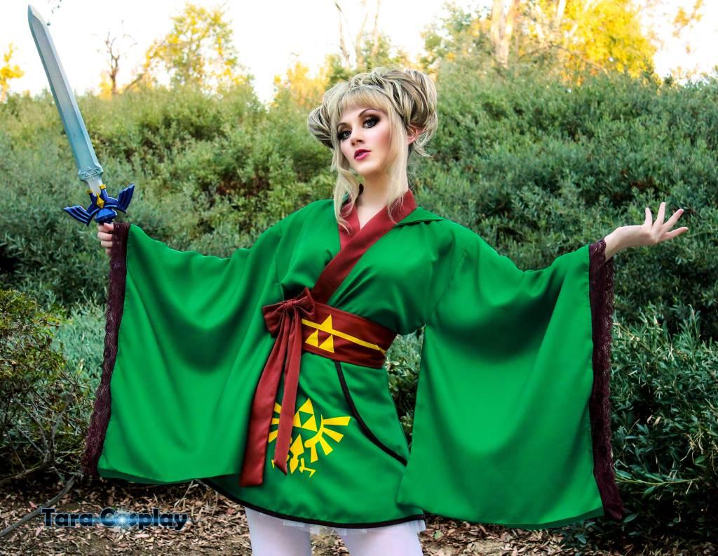 cosplay photography zelda by taracosplay