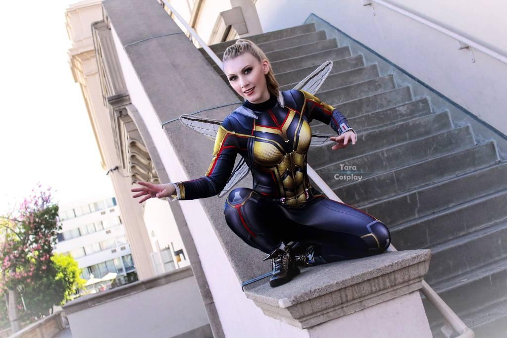 cosplay photography wasp by taracosplay