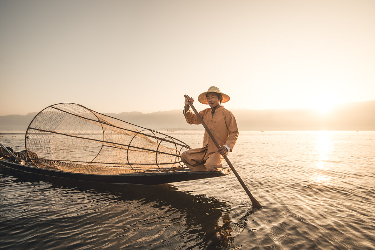 nature photography fishing by witold ziomek