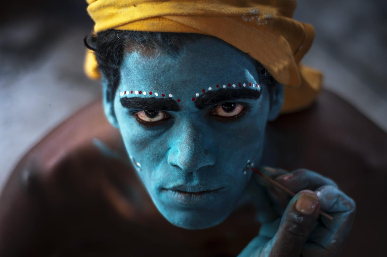 travel photography india folk art artist by saravanan dhandapani