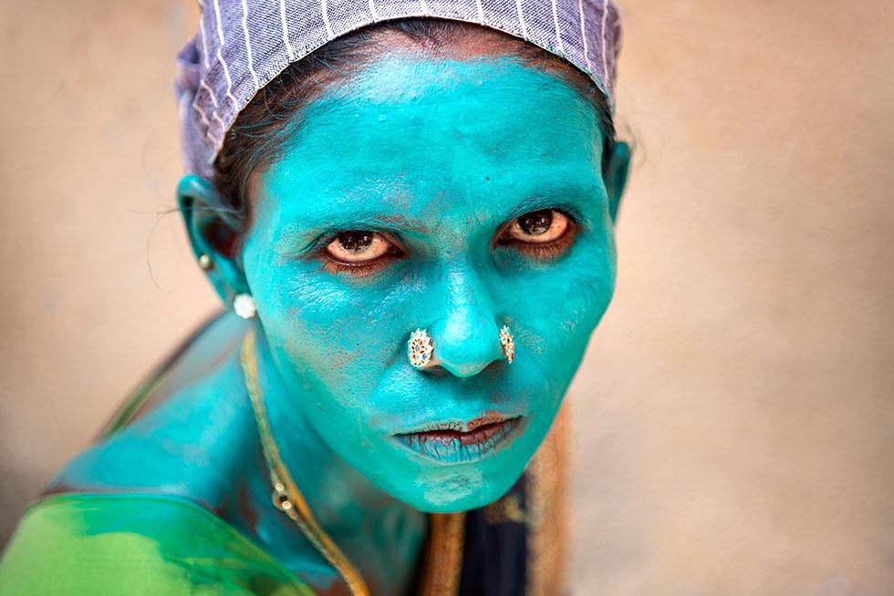 travel photography india flok art artist by saravanan dhandapani