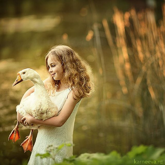 duck kid photography by elena karneeva