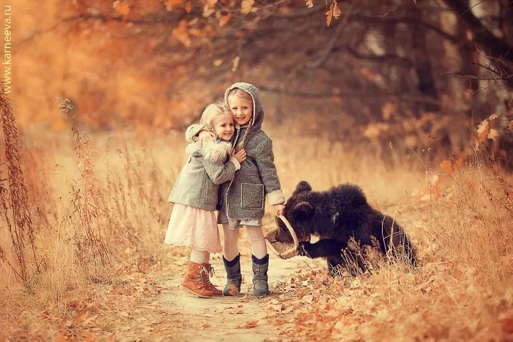 bear kid photography by elena karneeva