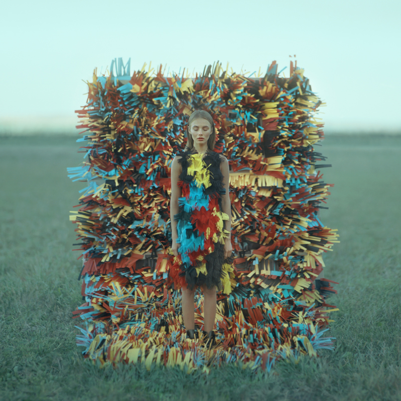 fineart photography colourful girl by oleg opriso