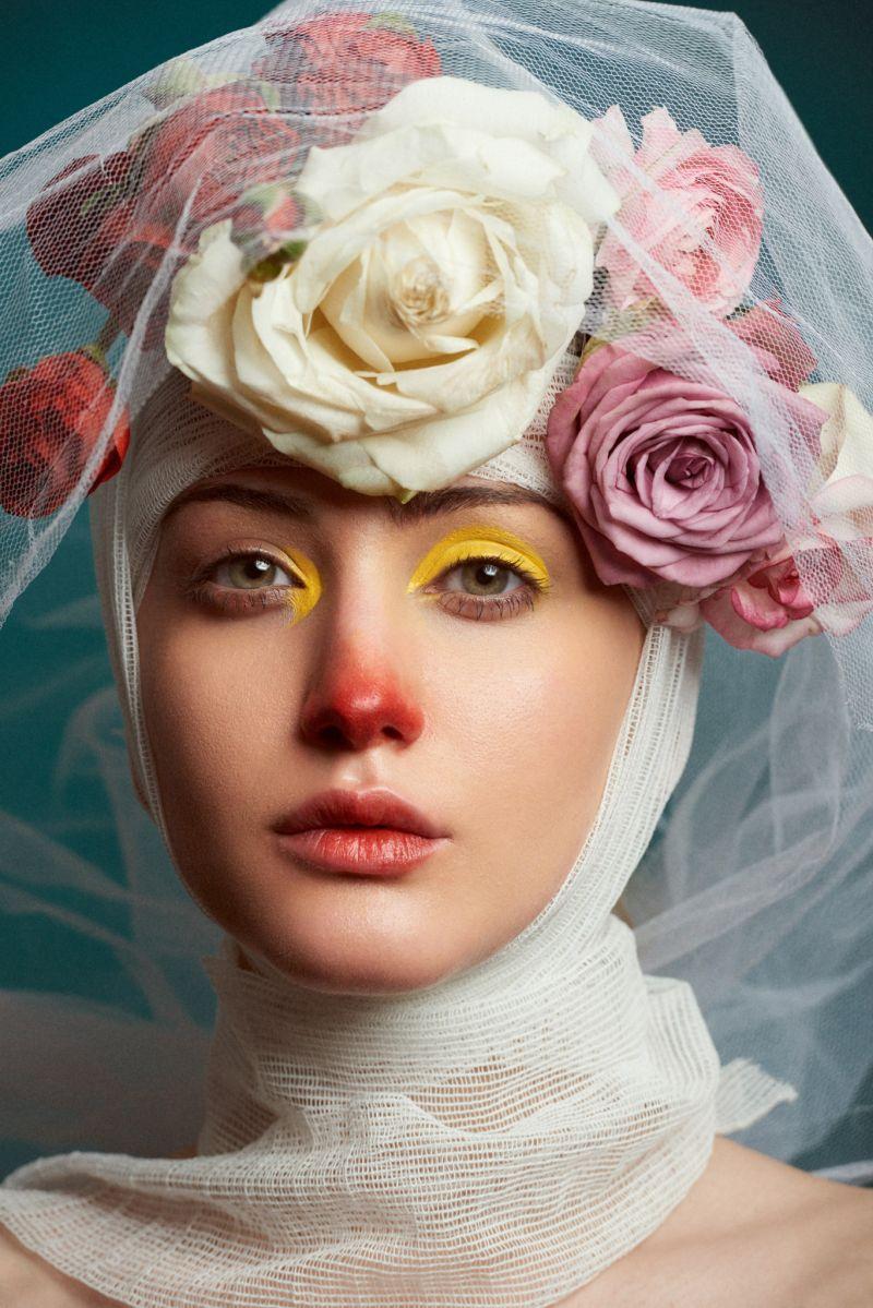 beautiful iranian woman portrait photography by mohammadreza rezania