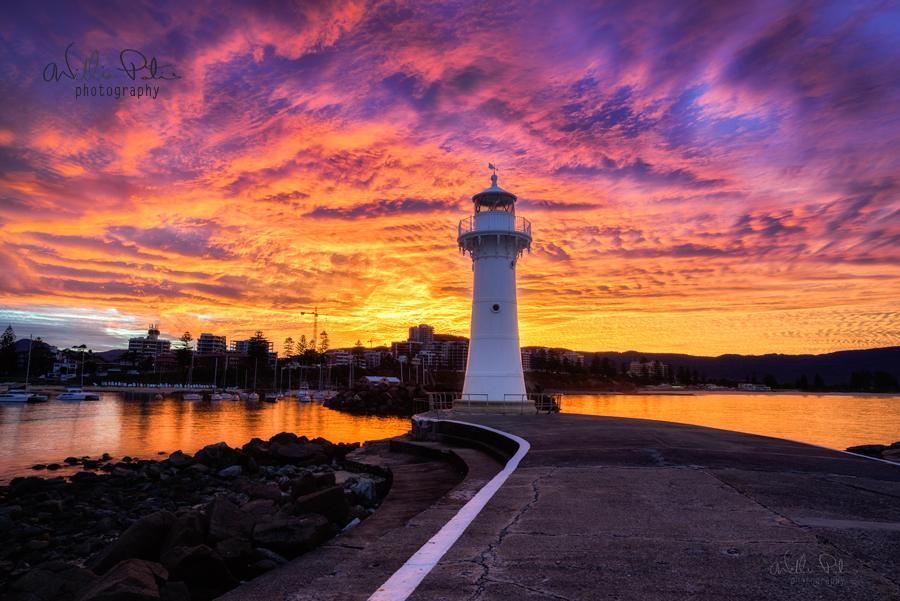 wollongong harbour photography by william patino