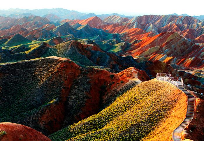 2 zhangye danxia china beautiful places