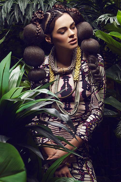 2 fashion photography dress by diliana florentin