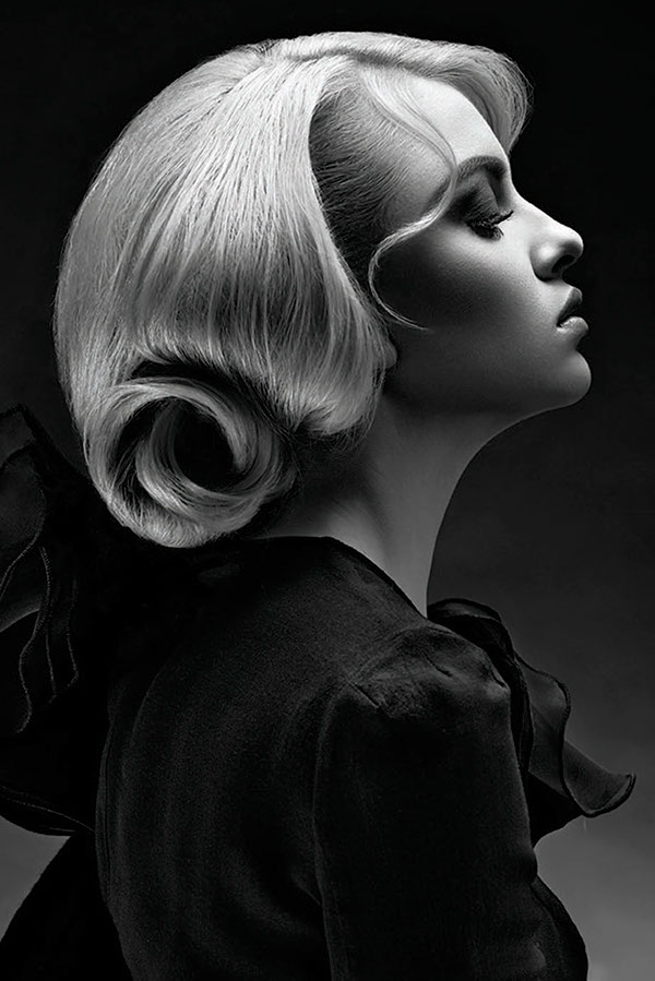 beauty photography hair style by diliana florentin