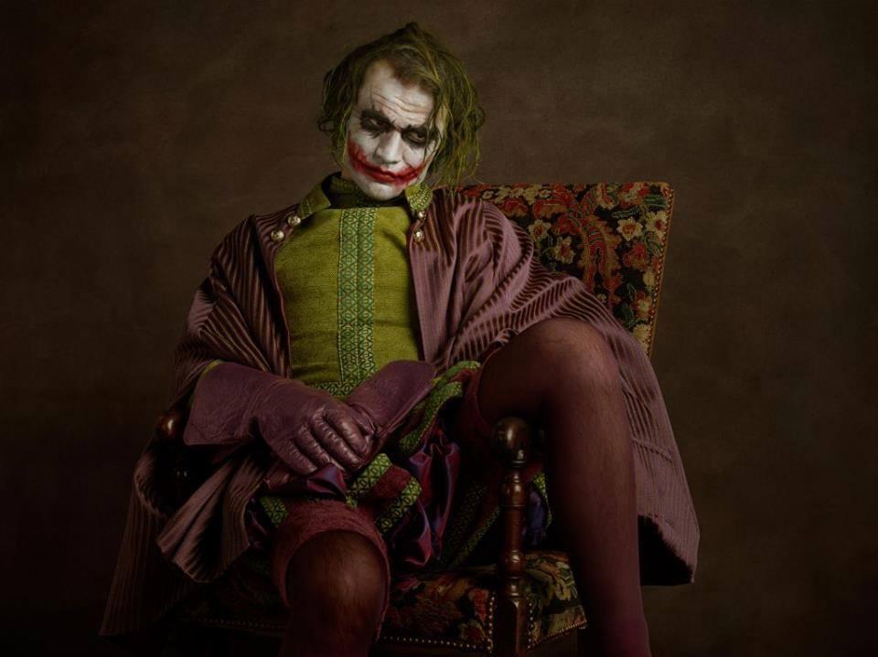 cosplay photography joker sacha goldberger
