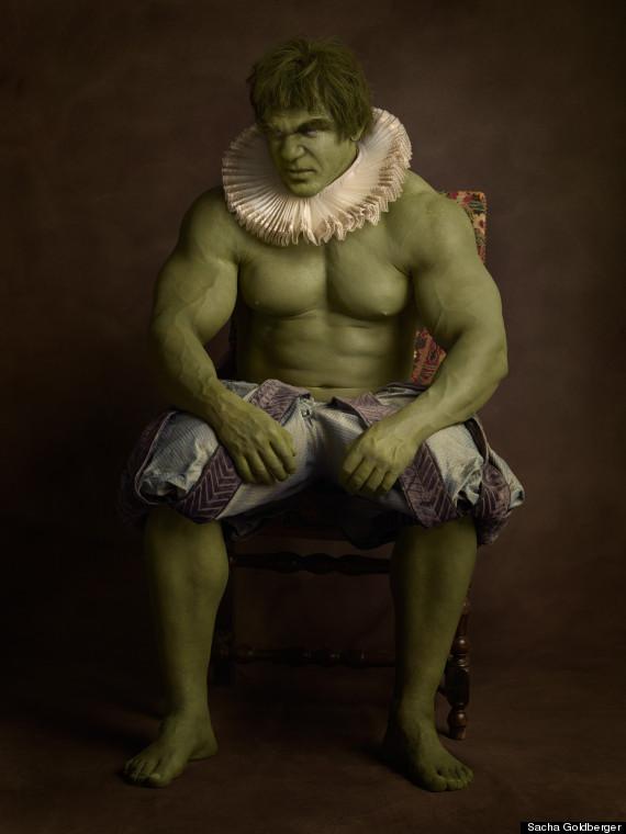 cosplay photography hulk sacha goldberger