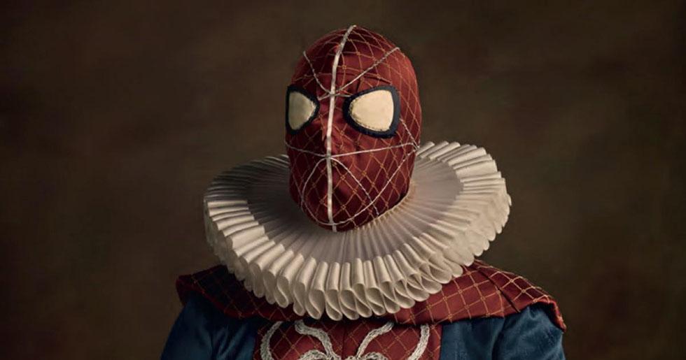 cosplay photography spider man sacha goldberger