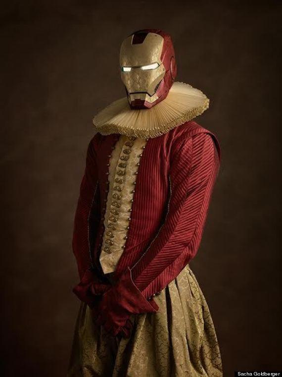 cosplay photography iron man sacha goldberger