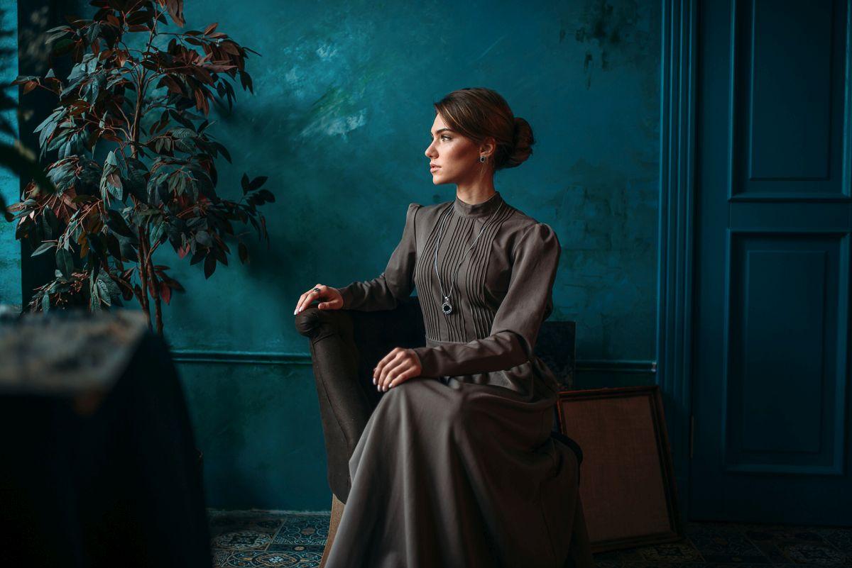 fashion photography woman by maks kuzin