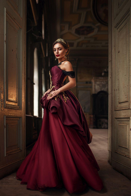 fashion photography queen by maks kuzin