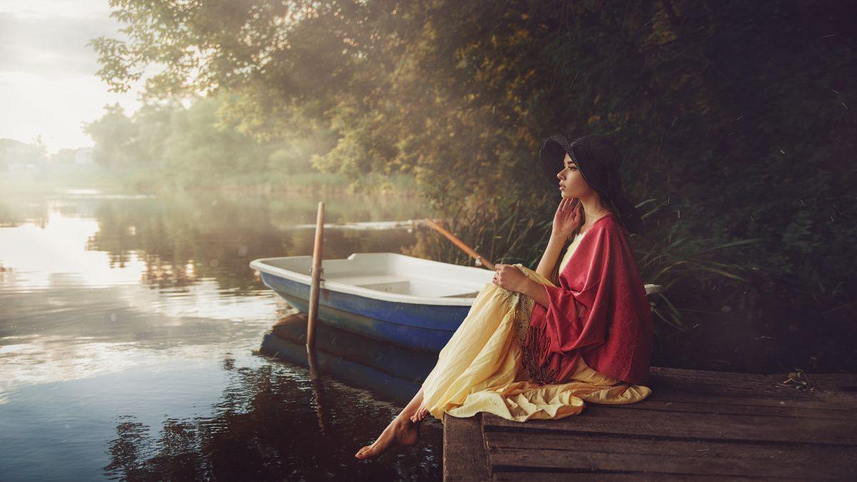 fashion photography fishing by maks kuzin
