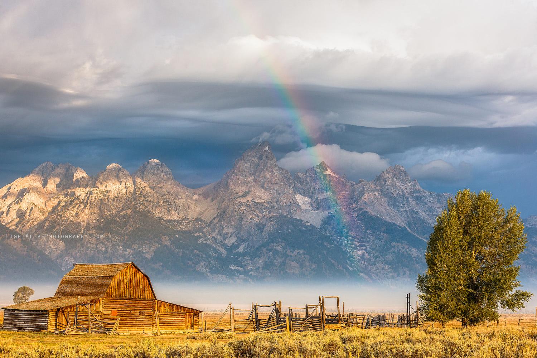 sky photography teton rainbow by nicolaus wegner