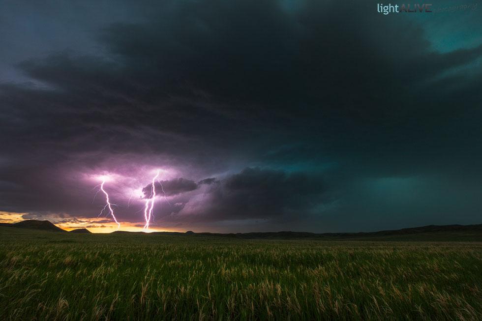 sky photography lightening by nicolaus wegner