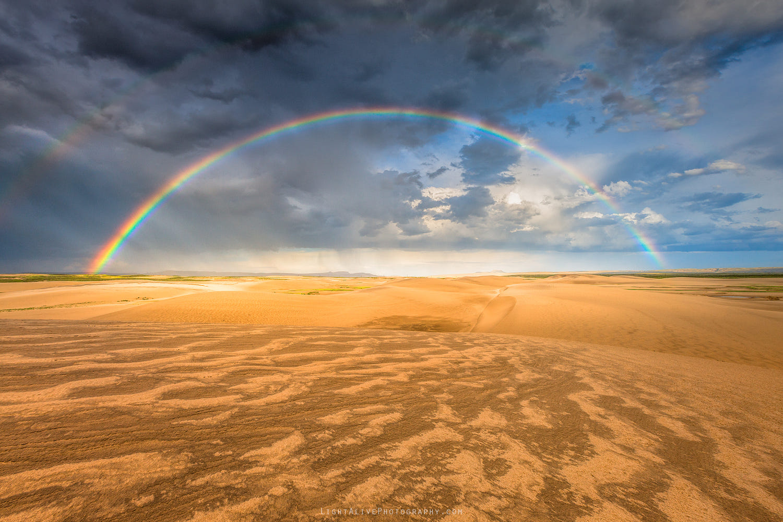 6 sky photography sand dunes rainbow by nicolaus wegner