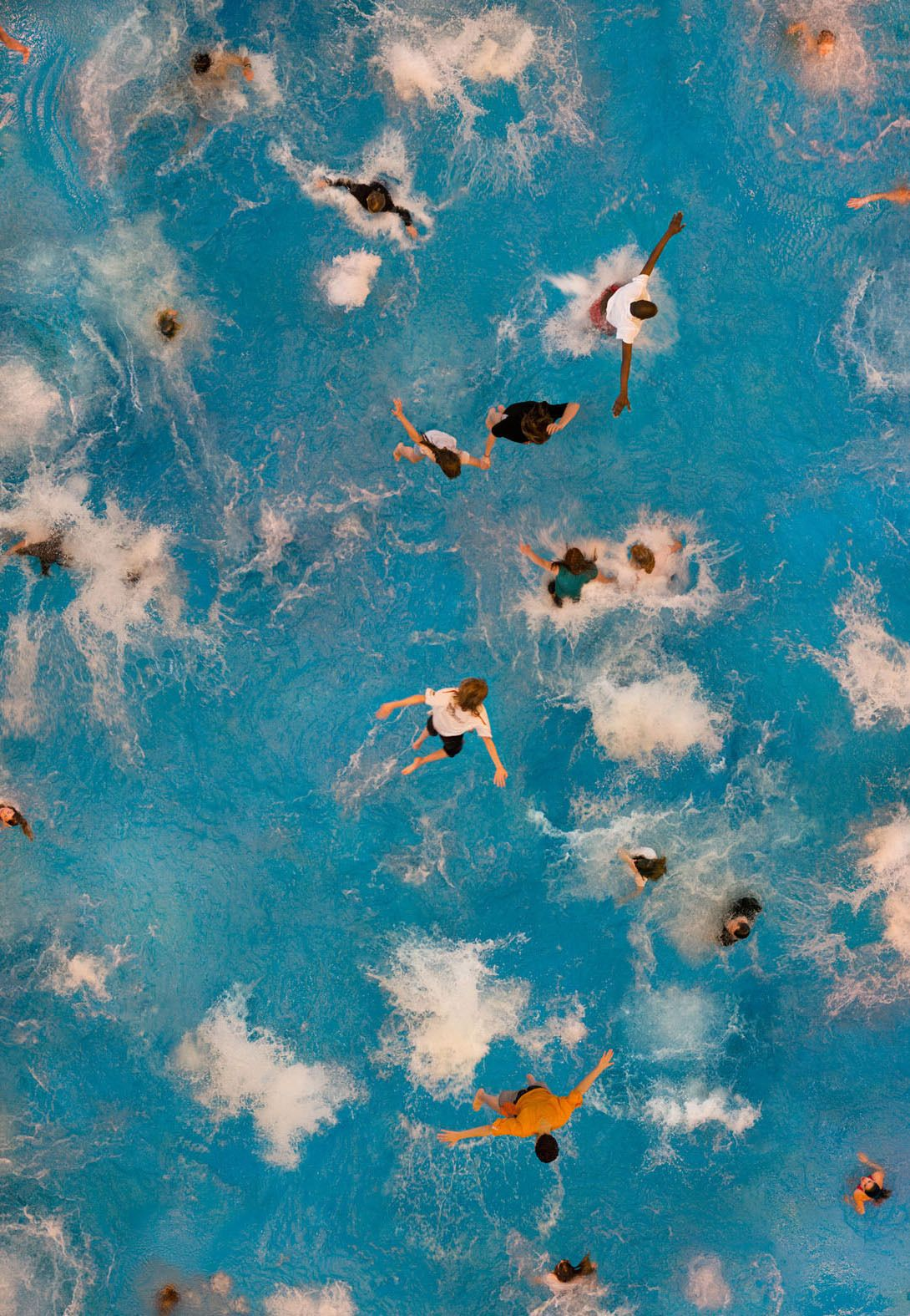 aerial photography pool by katrin korfmann