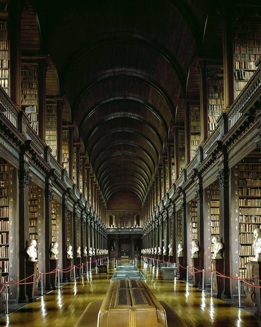 photography trinity college library by massimo listri