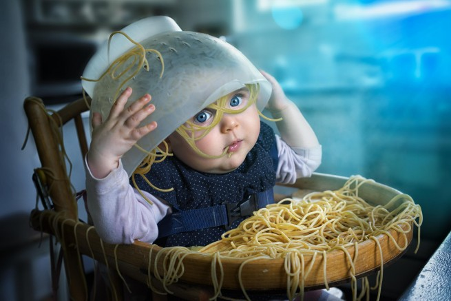 funny baby photography