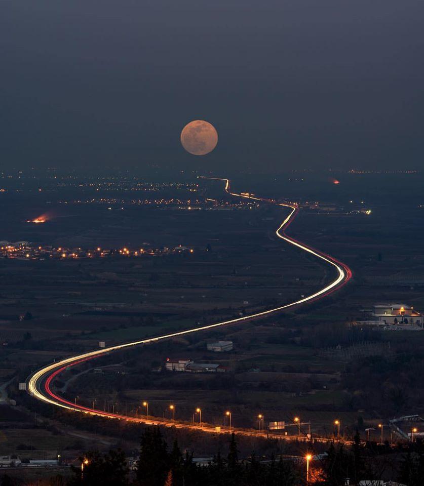 landscape photography sun road by argiris karamouzas