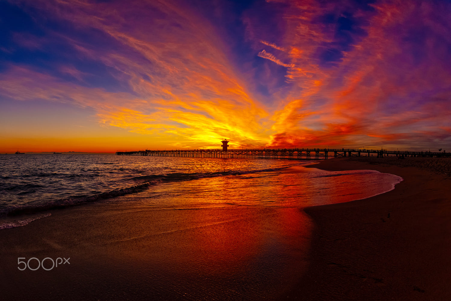 photography sunset beach by rich cruse