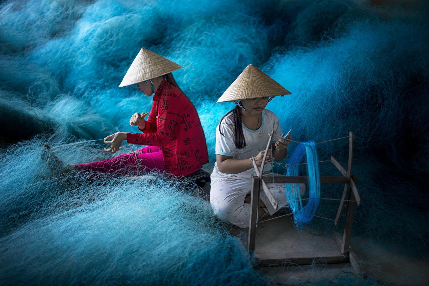 travel photography fisherwomen by burak senbak