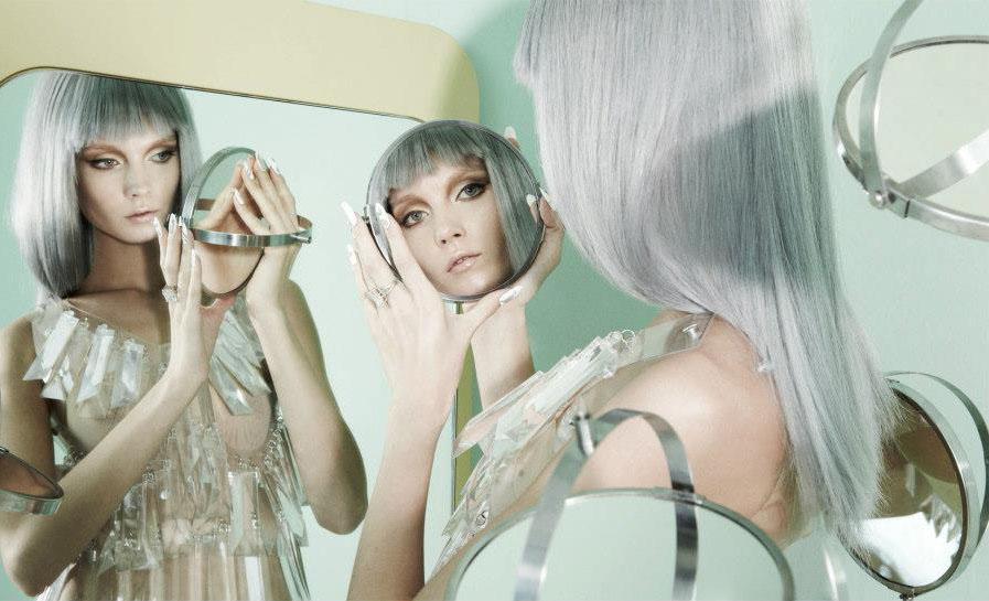 creative photography mirror