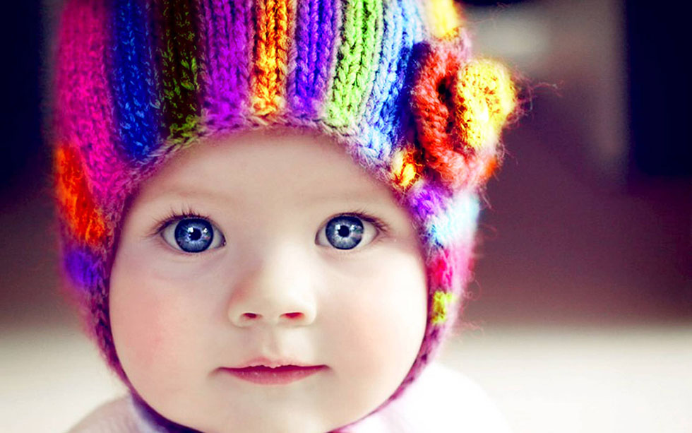 1 baby colorful photography