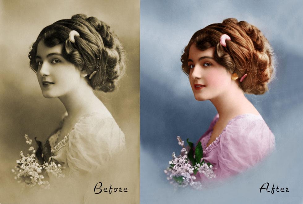 1 photo restoration