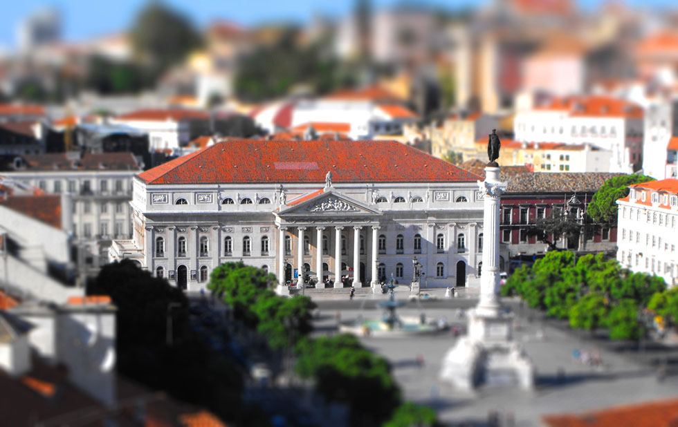 tilt shift photography -  1