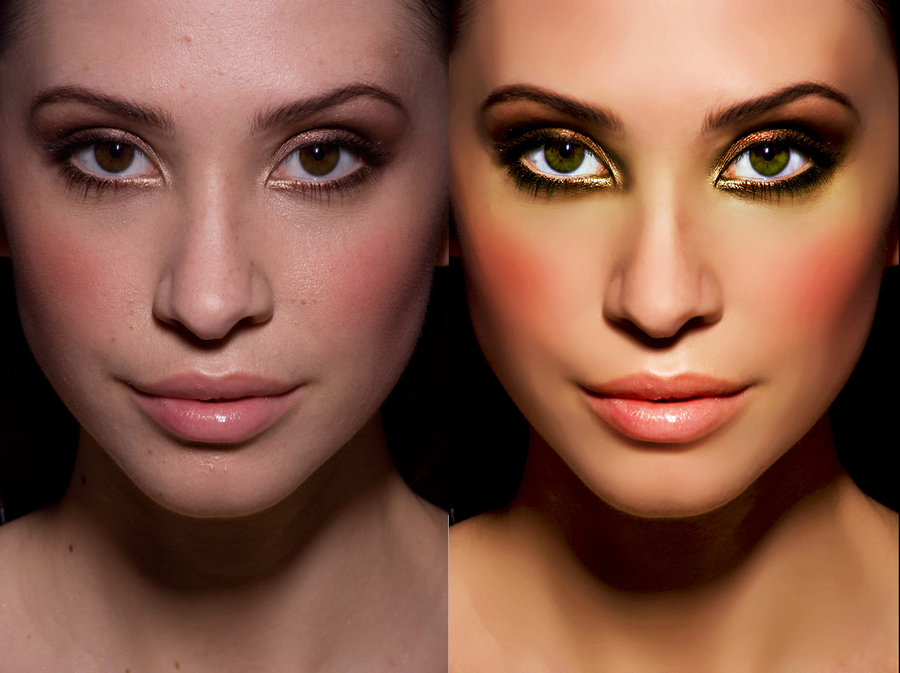 10 photo retouching by toxictwo