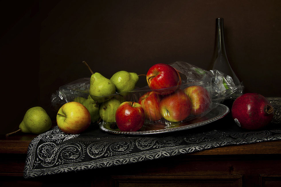 11 fruits still life photography