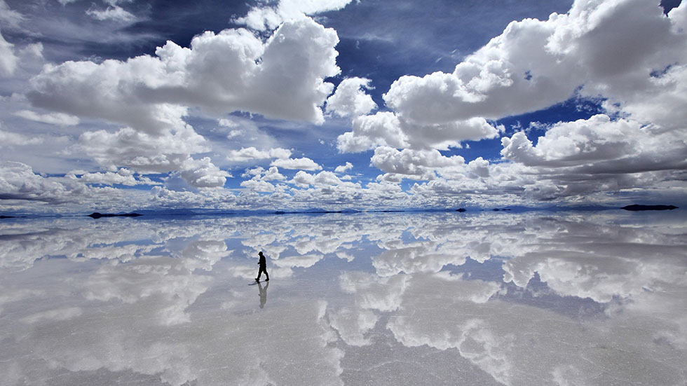 13 clouds reflection photography