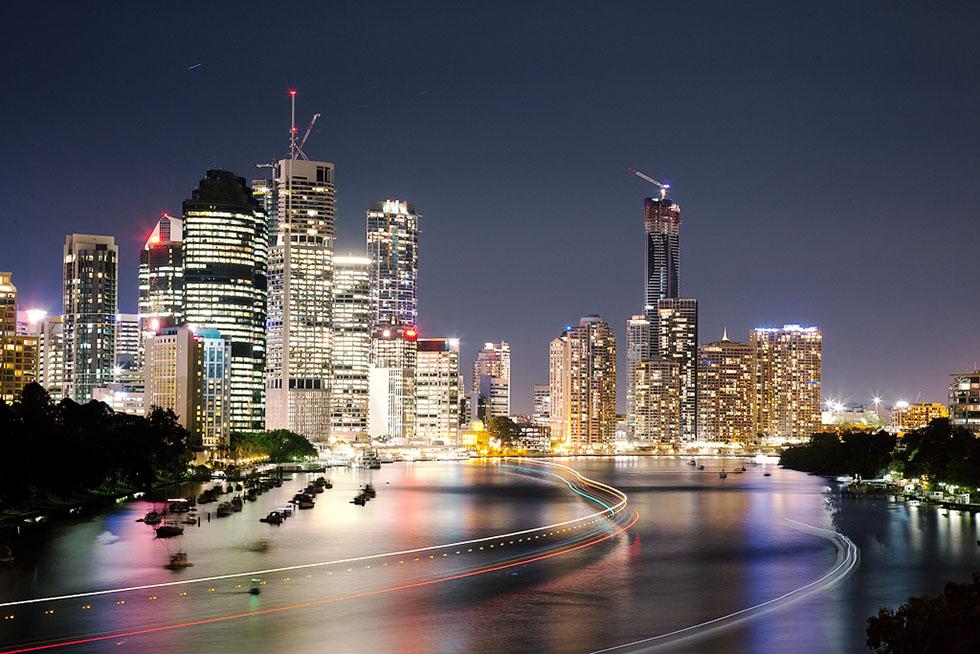brisbane skyline panoramic photography -  16