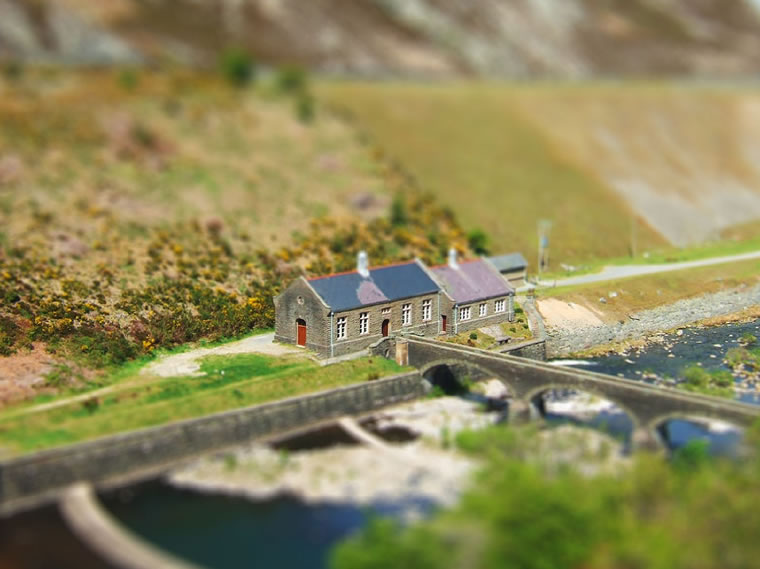 17 tilt shift photography