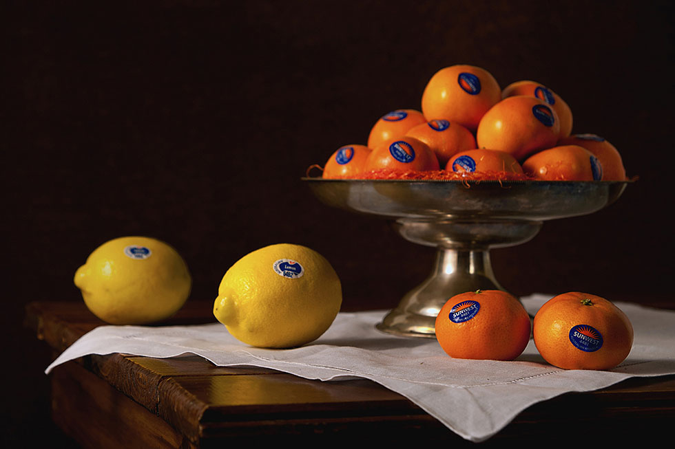 18 oranges still life photography