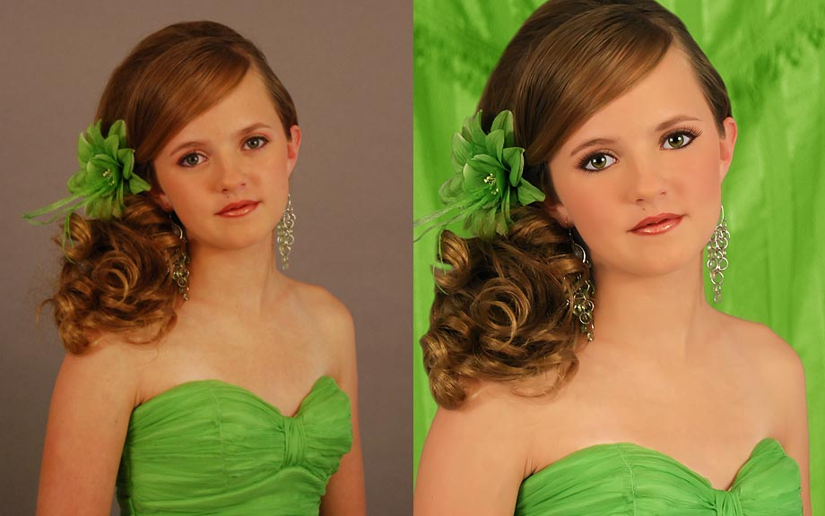 girl photo retouching -  2